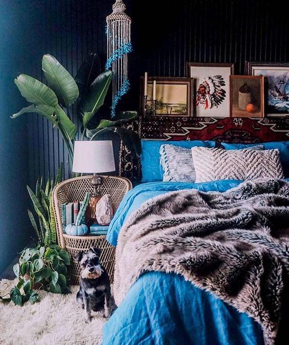 urban jungle slaapkamer - Wondere Woon Wereld