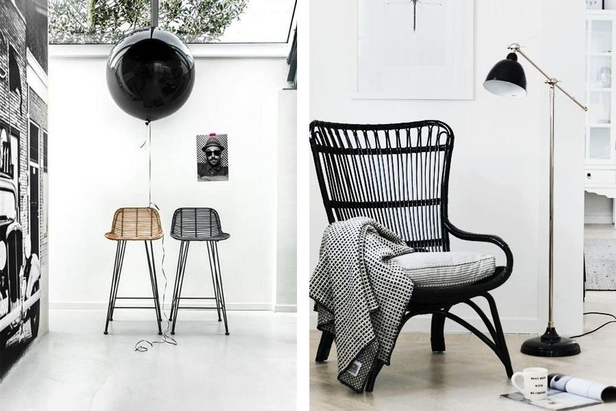 Stoel Rotan Wit : Rotan stoel haal de stoel op zolder maar onder het stof vandaan