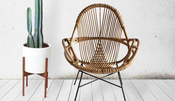 Zwarte Rieten Stoel : Rotan stoel: haal de stoel op zolder maar onder het stof vandaan!