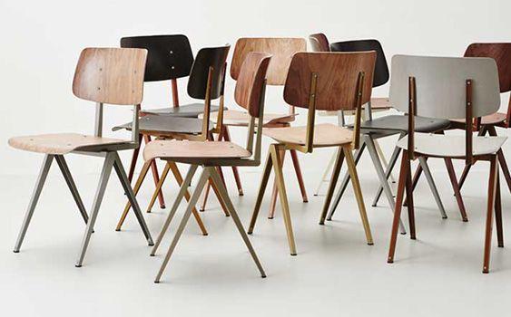 Stoer Industriele Eetkamerstoelen : Industriële stoelen: de musthave voor een stoer interieur