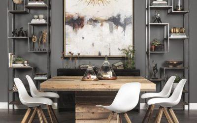 Vierkante eettafels passen in elk interieur!