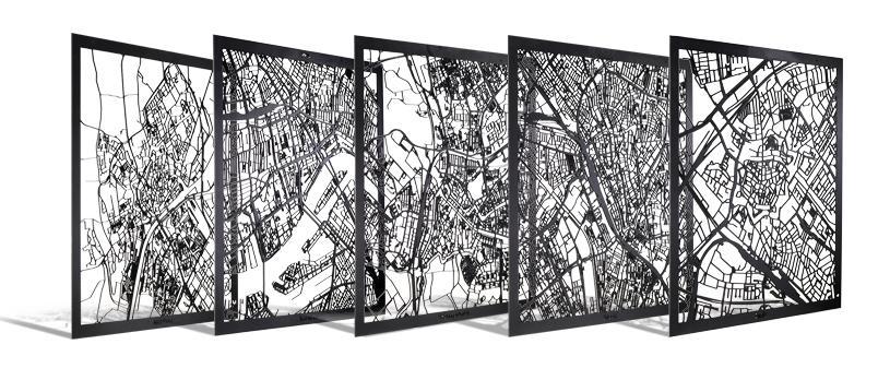 Stadskaart van DIP: jouw stad op de kaart