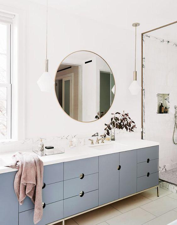 Design-badkamermeubel-blauw