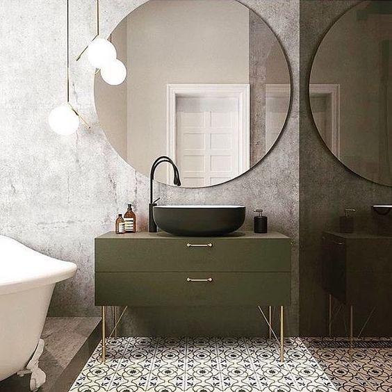 badkamermeubel-groen-voorbeeld-badkamers