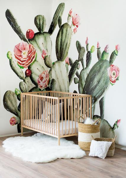 babykamer-inrichten-behang