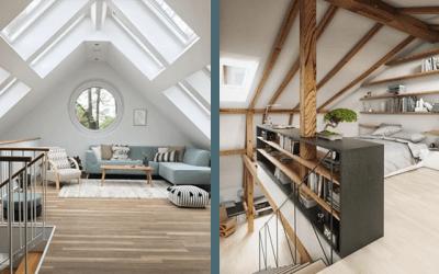 7x zolder ideeën – van kinderkamer tot master bedroom!