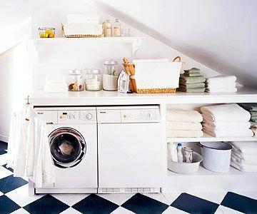 zolder-inrichting-ideeën-wasmachine
