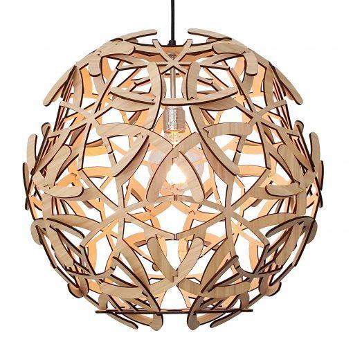 Hanglamp-gewei-hout