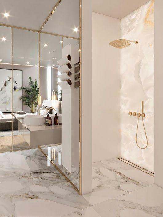 luxe-badkamer-ideeën-marmer