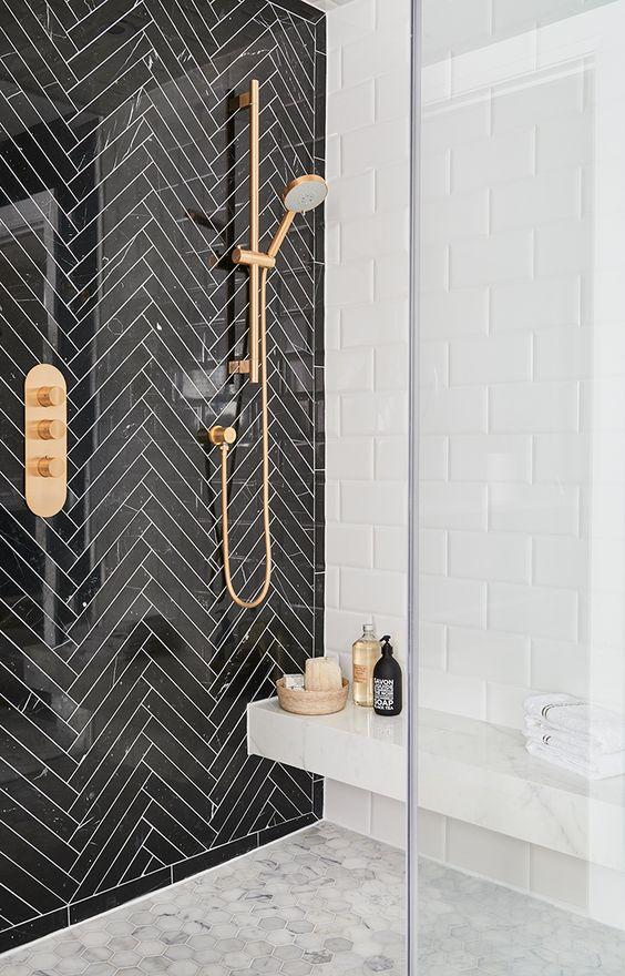 badkamer-trends-2019-goud-zwart