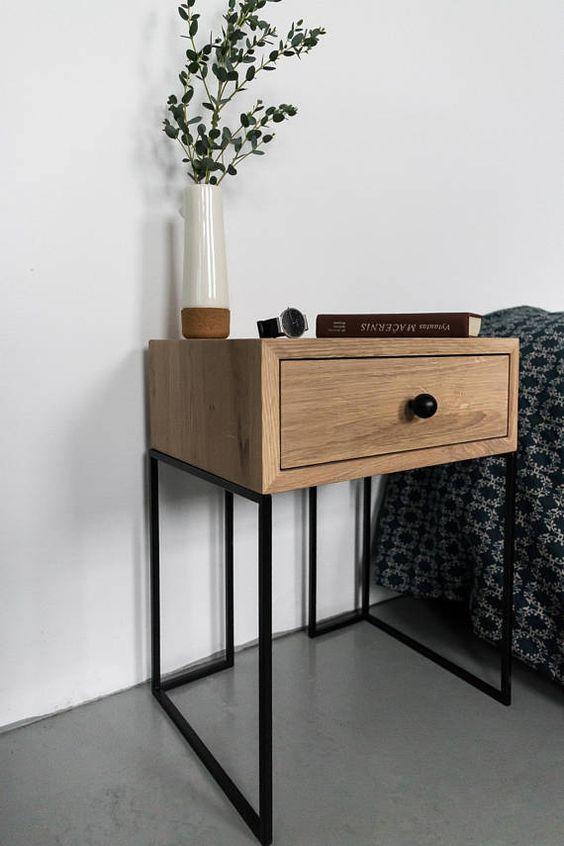 Wonderbaar Industriële nachtkastjes voor jouw slaapkamer! - Wondere Woon Wereld CN-74