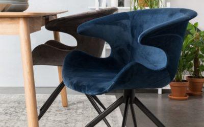 Velours eetkamerstoel: luxe en comfortabel