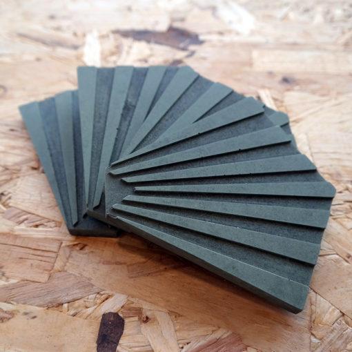 MODI-beton-onderzetter-groen-stapel