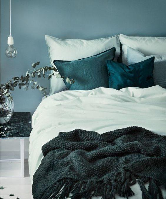 Met een dekbedovertrek geef je de slaapkamer een hele andere look!