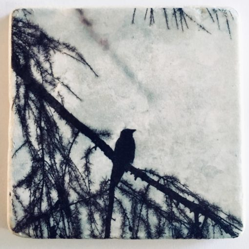Nature Art Tiles_Bird_black_KarenWinnubst
