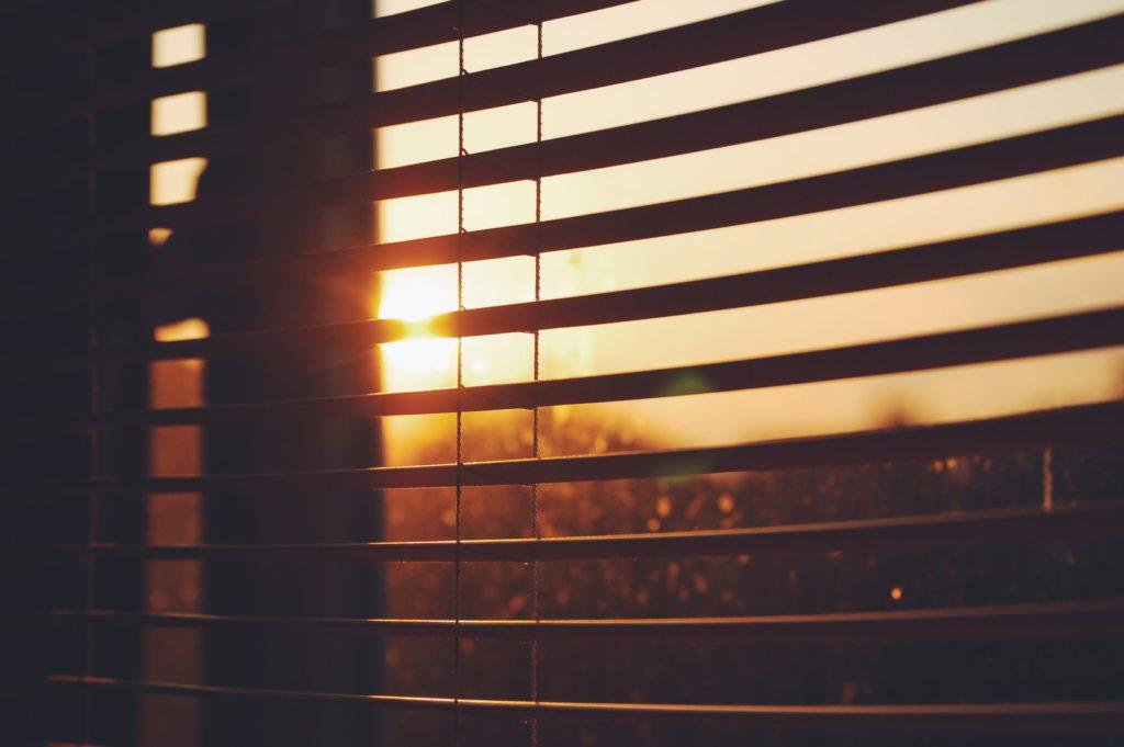zonwering-zonsondergang